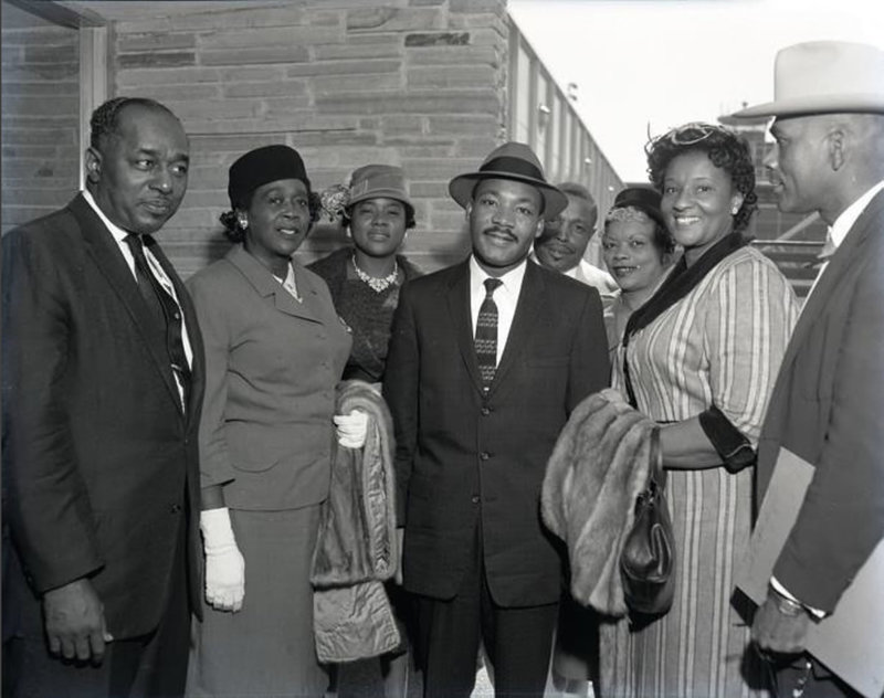 Image of Martin Luther King, Jr. in Fort Worth